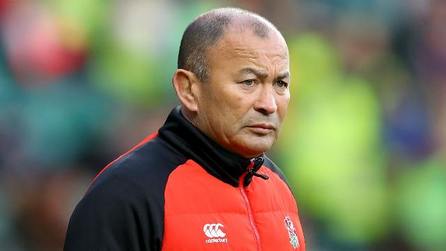 Eddie Jones faces train abuse