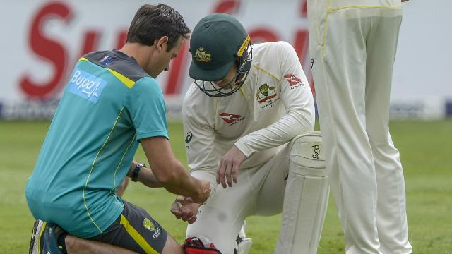Bad break for Paine in fourth Test