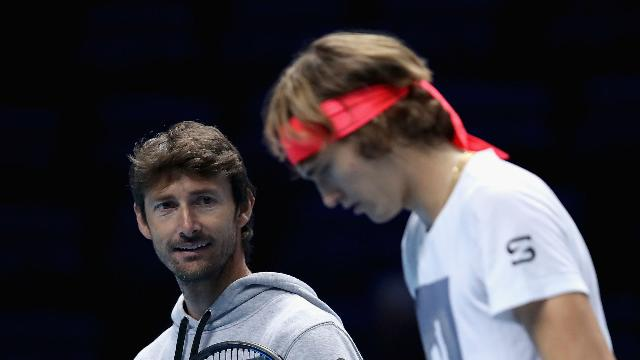 Zverev explains Ferrero split