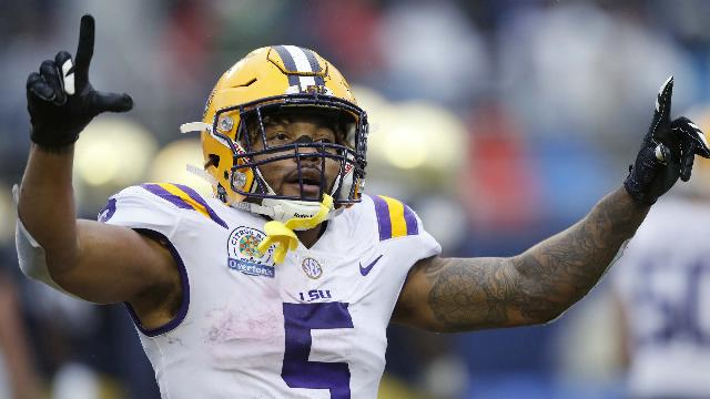 Guice confident in NFL ability