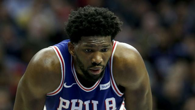 Sparks fly as 76ers beat Cavs