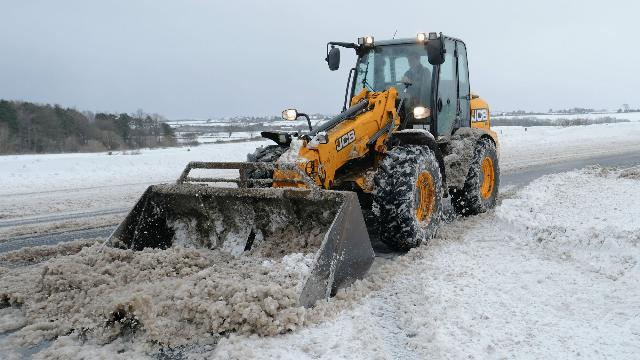 Snow causes fixture cancellations