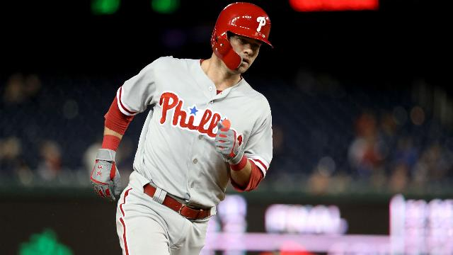 Phillies Andrew Knapp walkoff homer