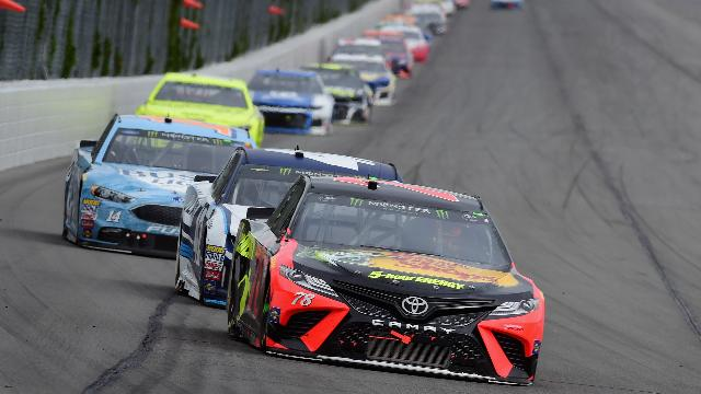 Truex Jr. wins Pocono 400