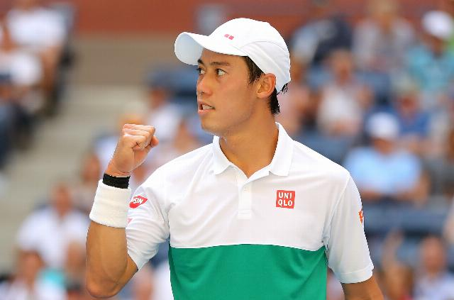 Nishikori edges Cilic in five