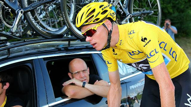 Froom defends Team Sky, Brailsford