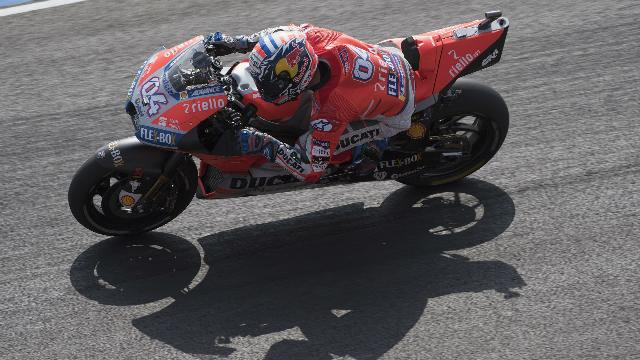Dovizioso alarmed by 'scary' FP2