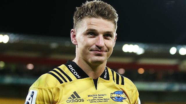 Beauden Barrett reaches milestone